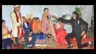 Taaron ka chamkta gehna ho wedding best brother dance for her sister