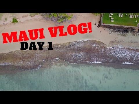 MAUI HAWAII VLOG DAY 1! DJI MAVIC PRO DRONE + FAMILY FUN!