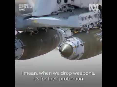 RAAF Hornet knuck, sandpit deployment