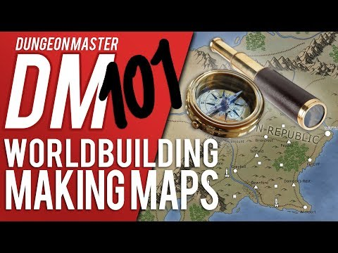 DM 101 - Episode 5: Part Two - Map Making (D&D Help/Advice)