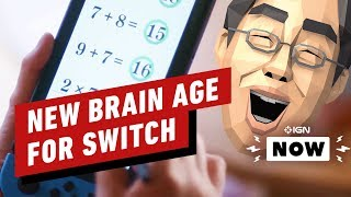 New Brain Age Announced for Nintendo Switch - IGN Now