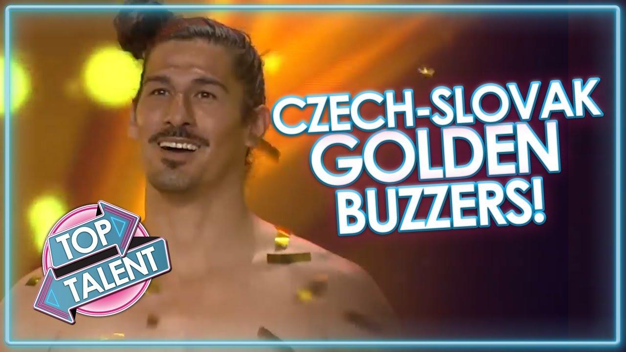 BEST GOLDEN BUZZERS On Czech-Slovak Got Talent! | Top Talent