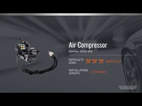 Air Suspension Compressor for Select Jeep Grand Cherokee Models