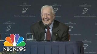 Jimmy Carter Says There Should Be An 'Age Limit' On Presidency | NBC News