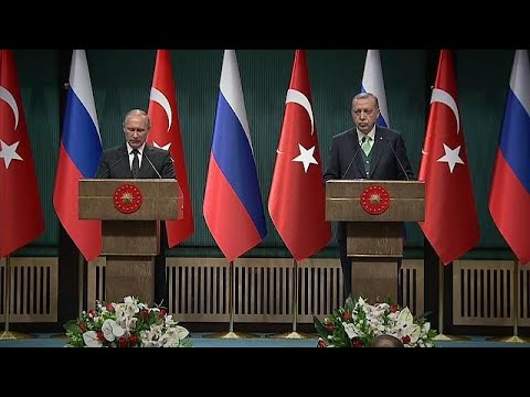 Putin and Erdogan warn US over Jerusalem move