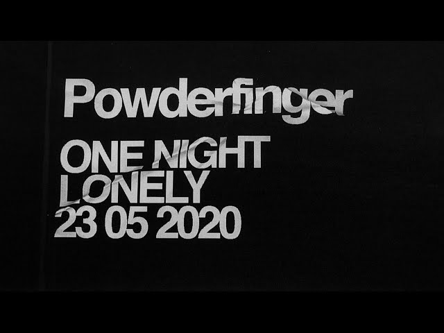 Powderfinger One Night Lonely