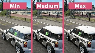 Project CARS 2 – PC 4K Min vs. Medium vs. Max Graphics Comparison & Frame Rate