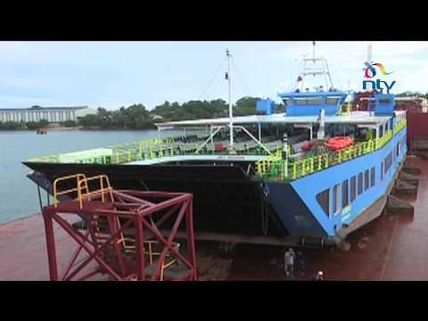 Much awaited modern ferry arrives in Mombasa