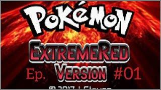 O INÍCIO DA MINHA JORNADA POKÉMON [Pokémon Extreme Red] (GBA) [#01]