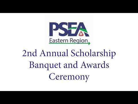 2018 Eastern PSEA Scholarship Banquet Part 1