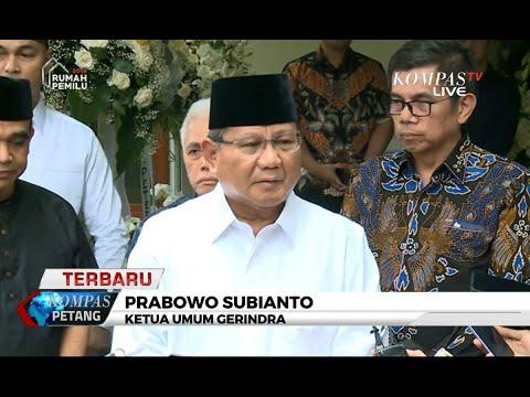 Prabowo: Ani Yudhoyono Istri yang Hebat, Pasti Pak SBY Sangat Kehilangan...