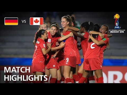 Germany v Canada  - FIFA U-17 Women's World Cup 2018™ - Quarter-Final
