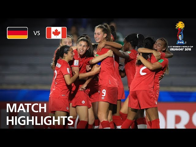 Germany v Canada  - FIFA U-17 Women's World Cup 2018™ - Quarter-Final
