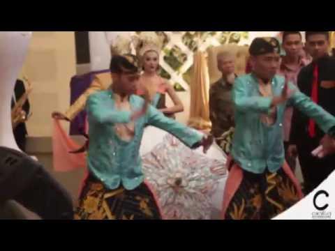 Prosesi penjemputan pengantin kolaborasi modern & tradisi - Cikallia Music Entertainment Bandung