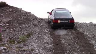 Пробуем забраться в гору, куда не заехал  УАЗ патриот  Lite версия