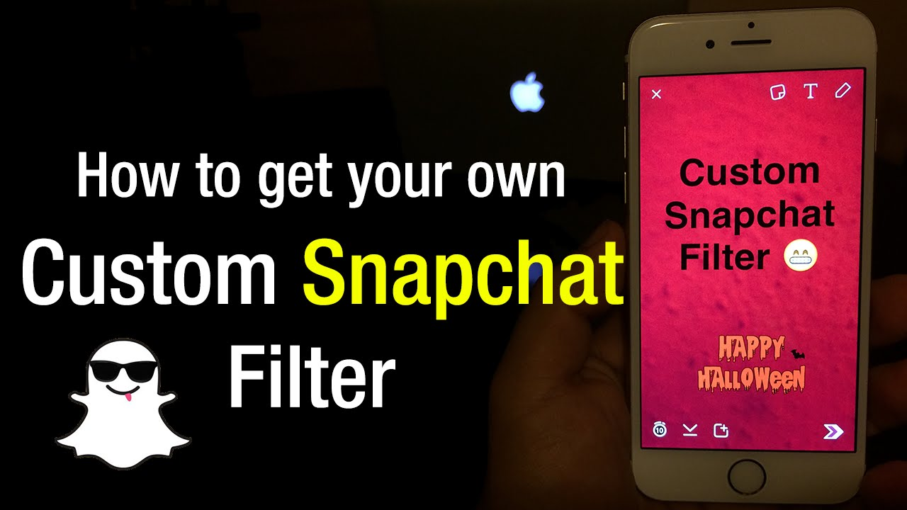 How To Get Your Own Custom Snapchat Filter Newest Update Working