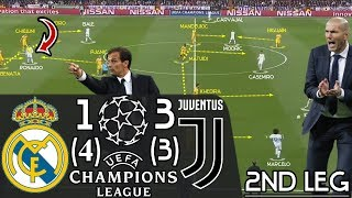How Juventus Almost Achieved the Unthinkable vs. Zidane's Real Madrid: Tactical Analysis (2nd Leg)