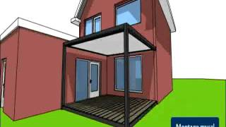 Video Id2 Design - Pergola Modulable - Idéeà Terrasse - Abritez-vous Chez Nous