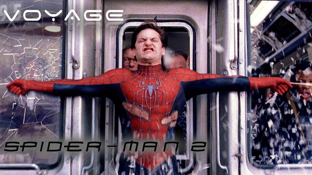 Download Spider-Man Stops A Train From Crashing   Spider-Man 2   Voyage