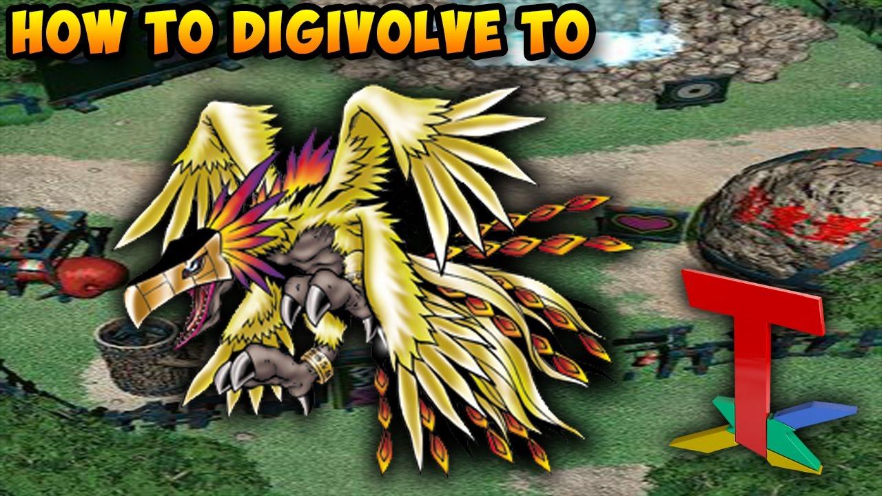 Digimon World - Phoenixmon [PlayStation] - YouTube