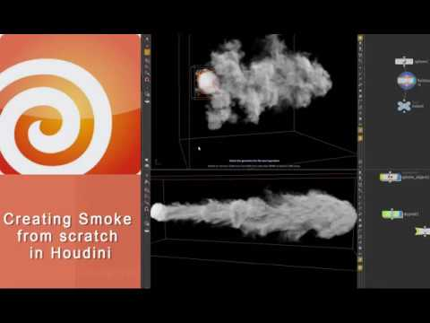 Creating Smoke from scratch in Houdini