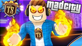 THE ONEST SUPER VILLAIN IN MAD CITY! -Mad City | Danish Roblox