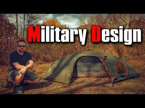 Inexpensive Military Tent - Catoma Stealth 1 Tent - First Look