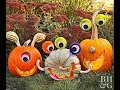 Top 40 Best Pumpkin decorating ideas for halloween seed carving trellis