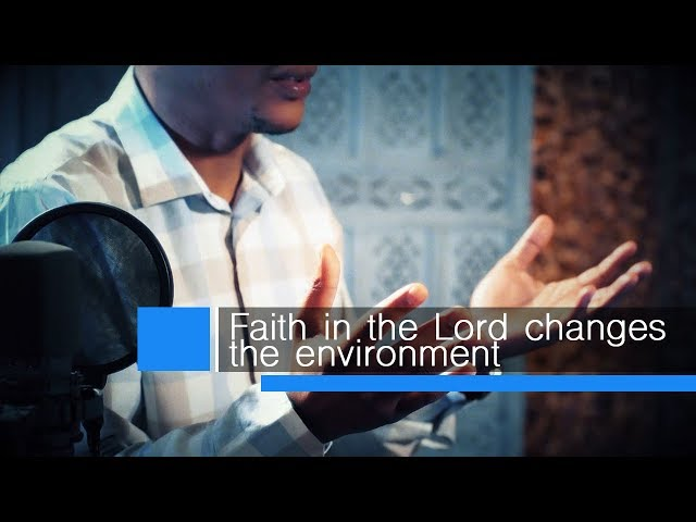 Pastor Neyi Zimu Devotional  - Faith in God changes the environment