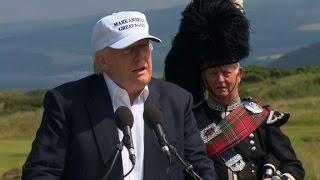 Trump blames Obama for Brexit