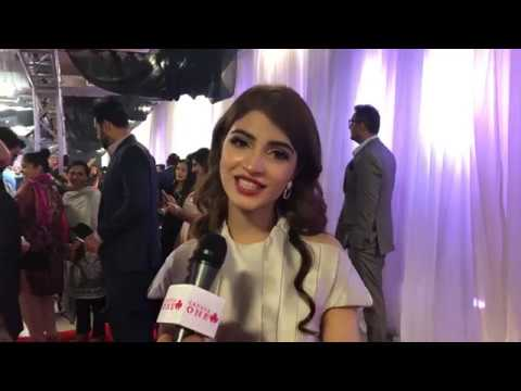 Kinza Hashmi Interview at Hum TV Awards