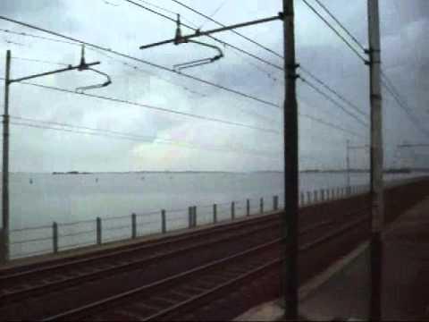 Train Journey from Chioggia to Venzia ( Italy )