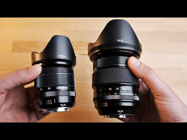 Fuji 18-55 vs 16-55 | Test a Confronto