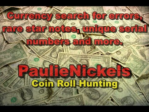 Currency Search For Rare Star Notes, Errors, Unique Serials And More.