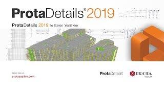 ProtaDetails 2019 ile Gelen Yenilikler Webinar'ı