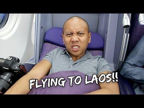 TRAVELING TO LAOS (VIENTIANE) | Vlog #196