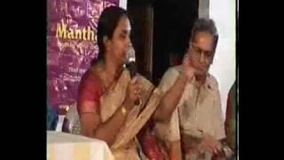 Atluri Subhasini in Manthan Programme.mpg