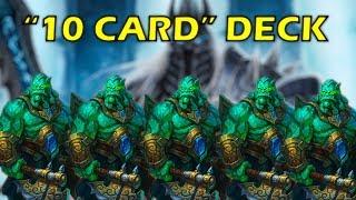 "Hearthstone - a ""10 Card"" Druid Deck to Win vs The Lich King"