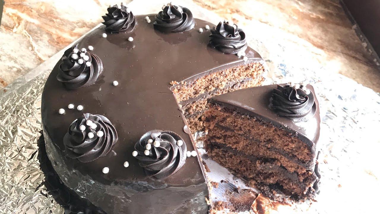 Chocolate Truffle Cake Recipe Youtube