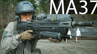 The MA37 Assault Rifle (Standard UNSC Rifle)