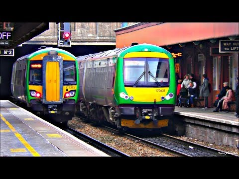 Trains At Birmingham Moor Street & Banbury | 26/02/18