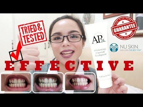 EFFECTIVE PAMPAPUTI NG NGIPIN | AP24 Whitening Toothpaste I Nu Skin
