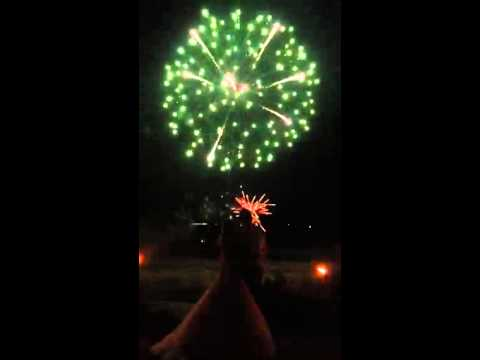 Saltcote Place Wedding with Fireworks