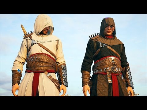 Assassin's Creed Unity Legendary Altair Brothers Free Roam and Combat