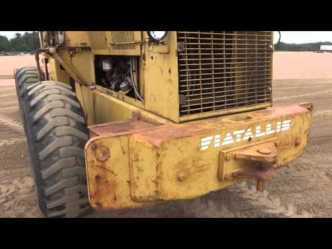 Fiat Allis FR12 Wheel Loader Part 2