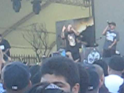 Psycho Realm and B-real Live at the Cypress Hill Smokeout 2009