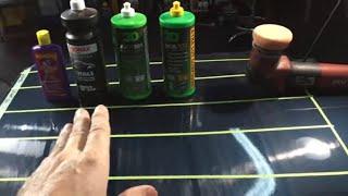 The Compound Showdown Of A Lifetime!!! Sonax Cut Max VS 3D ACA 500 VS Wizards VS 3D AAT 501