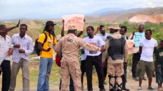 Manifestation in Haiti - 15 Jiyè 2014
