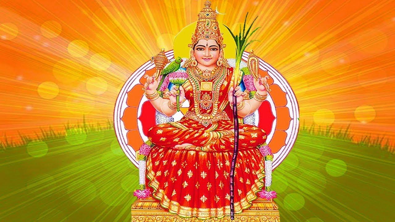 Sri Lalitha Tripura Sundari Ashtothram – 108 Names of Goddess Lalitha –  Must Listen for Good Luck - YouTube