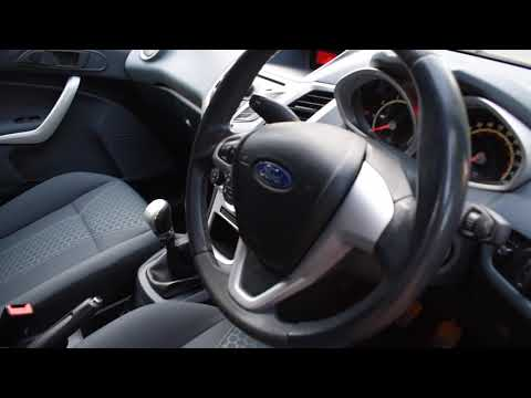 2009 09 FORD FIESTA 1.4 ZETEC 16V 3DR 96 BHP A/C ONLY 54,000 MILES